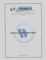 Báo cáo thường niên năm 2014 - Công ty cổ phần Cấp nước Phú Hòa Tân