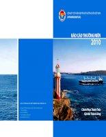 Báo cáo thường niên năm 2010 - Công ty Cổ phần Vận tải và Thuê tàu biển Việt Nam