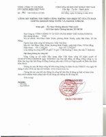 Nghị quyết Đại hội cổ đông thường niên - Tổng công ty Cổ phần Xây dựng điện Việt Nam