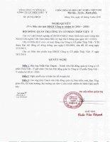 Nghị quyết Hội đồng Quản trị - Công ty Cổ phần Thép Việt Ý