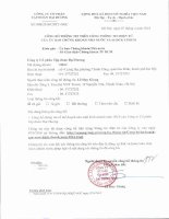 Nghị quyết Hội đồng Quản trị - Công ty Cổ phần Tập đoàn Đại Dương