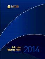 Báo cáo thường niên năm 2014 - Ngân hàng Thương mại cổ phần Quốc Dân