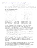 Báo cáo tài chính năm 2009 (đã kiểm toán) - CTCP Du lịch Tỉnh Bà Rịa - Vũng Tàu