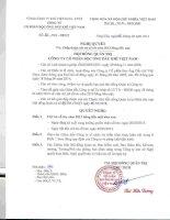 Nghị quyết Hội đồng Quản trị - Công ty cổ phần Bọc ống Dầu khí Việt Nam