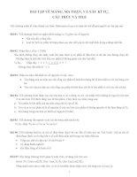 Bài tập thực hành mảng 1 chiều; 2 chiều; con trỏ ,cấu trúc trong c