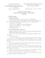 Báo cáo thường niên năm 2013 - CTCP Vận tải thủy - Vinacomin