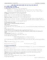 tailieulovebook com bài tập đơn điệu cực trị của hàm số