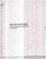 Báo cáo tài chính công ty mẹ quý 4 năm 2015 - CTCP Thuốc sát trùng Việt Nam