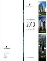 Báo cáo thường niên năm 2010 - Công ty Cổ phần Tập đoàn Đại Dương
