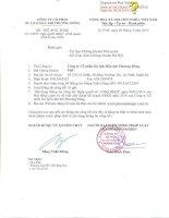 Nghị quyết Hội đồng Quản trị - Công ty cổ phần Du lịch Dầu khí Phương Đông