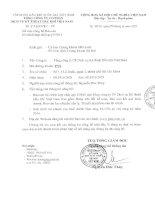 Báo cáo tài chính hợp nhất quý 1 năm 2015 - Tổng Công ty Cổ phần Dịch vụ Kỹ thuật Dầu khí Việt Nam