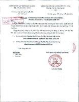 Bản cáo bạch - Công ty Cổ phần Tập đoàn Đại Dương