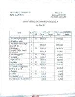 Báo cáo KQKD hợp nhất quý 3 năm 2010 - Công ty Cổ phần Đầu tư và Xây dựng Bưu điện