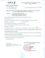 Báo cáo tài chính năm 2015 (đã kiểm toán) - Công ty Cổ phần Chứng khoán Thương mại và Công nghiệp Việt Nam