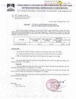 Báo cáo tài chính hợp nhất quý 2 năm 2015 - Tổng Công ty Cổ phần Tái bảo hiểm quốc gia Việt Nam