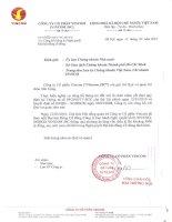 Nghị quyết đại hội cổ đông ngày 12-3-2010 - Tập đoàn Vingroup - Công ty Cổ phần