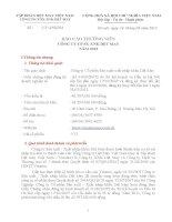 Báo cáo thường niên năm 2012 - Công ty Cổ phần Sản xuất – Xuất nhập khẩu Dệt May