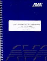 Báo cáo tài chính năm 2010 (đã kiểm toán) - Công ty Cổ phần Đầu tư và Xây lắp Dầu khí Sài Gòn