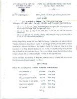 Nghị quyết Đại hội cổ đông thường niên năm 2008 - Công ty cổ phần Vận tải biển và Bất động sản Việt Hải