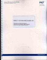 Báo cáo tài chính quý 2 năm 2015 (đã soát xét) - Công ty Cổ phần Bến xe Miền Tây