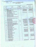 Báo cáo tài chính công ty mẹ quý 1 năm 2011 - Ngân hàng Thương mại cổ phần Quốc Dân