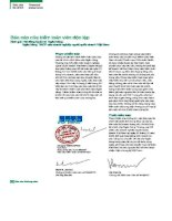 Báo cáo tài chính năm 2006 (đã kiểm toán) - Ngân hàng Thương mại Cổ phần Việt Nam Thịnh Vượng