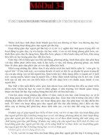 MODULE THCS 34 TỔ CHỨC HOẠT ĐỘNG GIÁO DỤC NGOÀI GIỜ LÊN LỚP Ở TRƯỜNG TRUNG HOC CƠ SỞ