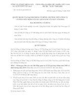 Nghị quyết đại hội cổ đông ngày 1-5-2010 - Công ty Cổ phần Bất động sản Du lịch Ninh Vân Bay