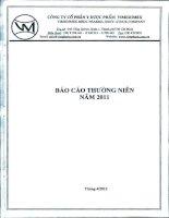 Báo cáo thường niên năm 2011 - Công ty cổ phần Y Dược phẩm Vimedimex