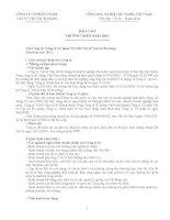Báo cáo thường niên năm 2011 - Công ty Cổ phần VICEM Vật tư Vận tải Xi măng