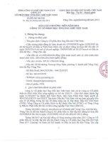Báo cáo thường niên năm 2014 - Công ty cổ phần Bọc ống Dầu khí Việt Nam
