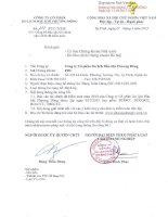 Báo cáo tài chính năm 2014 (đã kiểm toán) - Công ty cổ phần Du lịch Dầu khí Phương Đông