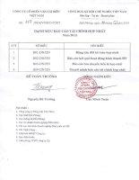Báo cáo tài chính hợp nhất quý 4 năm 2013 - Công ty Cổ phần Vận tải biển Việt Nam