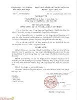 Nghị quyết Hội đồng Quản trị - Tổng Công ty Cổ phần Bảo hiểm Bưu điện