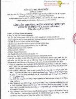 Báo cáo thường niên năm 2015 - Công ty Cổ phần Viglacera Tiên Sơn
