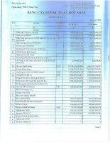 Báo cáo tài chính hợp nhất quý 2 năm 2013 - Ngân hàng Thương mại cổ phần Quốc Dân