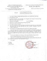 Báo cáo tài chính quý 1 năm 2016 - Công ty Cổ phần Kinh doanh Dịch vụ cao cấp Dầu khí Việt Nam