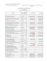 Báo cáo tài chính công ty mẹ quý 2 năm 2011 - Công ty Cổ phần Cung ứng và Dịch vụ Kỹ thuật Hàng Hải