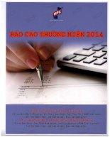Báo cáo thường niên năm 2014 - Công ty cổ phần In và Bao bì Mỹ Châu