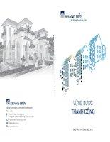 Báo cáo thường niên năm 2015 - Công ty Cổ phần Đầu tư Kinh doanh nhà Khang Điền