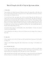 Bản kế hoạch chi tiết về dự án lập team nhóm (1)