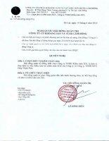 Nghị quyết Hội đồng Quản trị - Công ty Cổ phần Khoáng sản và Vật liệu xây dựng Lâm Đồng