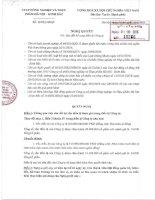 Nghị quyết Hội đồng Quản trị - Công ty Cổ phần Nông nghiệp và Thực phẩm Hà Nội - Kinh Bắc