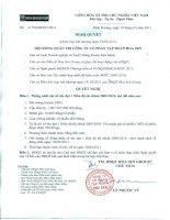Nghị quyết Hội đồng Quản trị ngày 19-3-2011 - Công ty Cổ phần Tập đoàn Hoa Sen