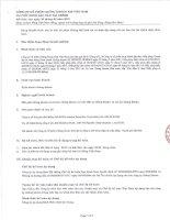 Báo cáo tài chính quý 3 năm 2015 - Công ty Cổ phần Chứng khoán KIS Việt Nam