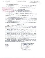 Nghị quyết đại hội cổ đông ngày 01-09-2009 - Công ty Cổ phần Dược phẩm IMEXPHARM