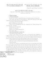 Báo cáo thường niên năm 2013 - Công ty cổ phần Phát hành Sách và Thiết bị Trường học Hưng Yên