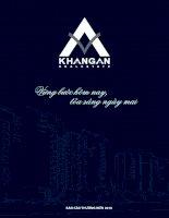 Báo cáo thường niên năm 2010 - Công ty Cổ phần Đầu tư Địa ốc Khang An