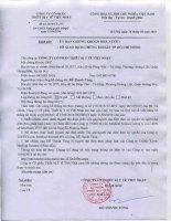 Nghị quyết Hội đồng Quản trị - Công ty cổ phần Thiết bị Y tế Việt Nhật