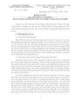 Nghị quyết đại hội cổ đông ngày 09-05-2009 - Công ty Cổ phần Chứng khoán Hải Phòng